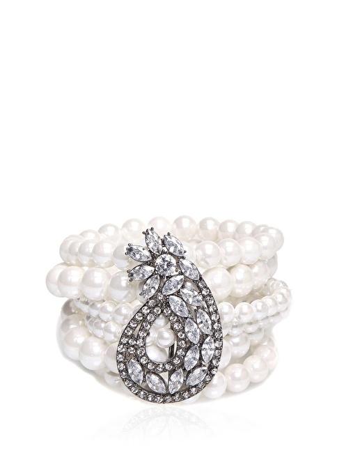 Beymen Collection Bileklik Beyaz